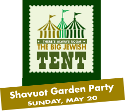 Shavuot Garden Party - Sunday, May 20